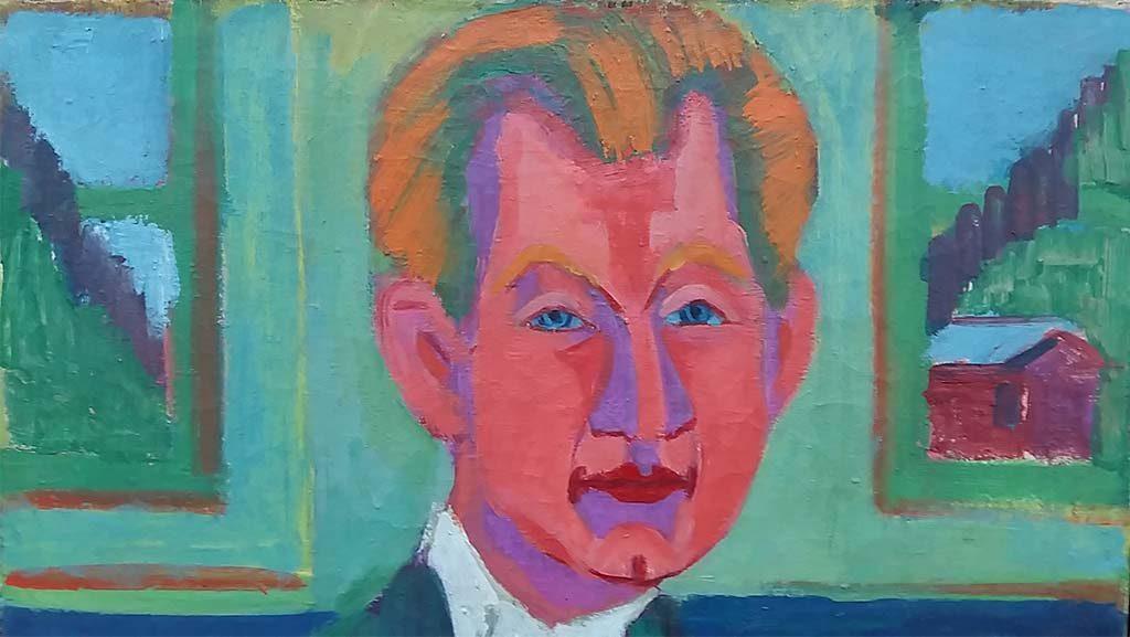Brücke-Museum-Berlijn-Portret-van-Edwin-Rebslob-1924-Ernst-Ludwig-Kirchner-foto-Wilma-Lankhorst