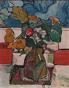 Brücke-Museum-Berlijn-Stilleven-met-bloemen-1908-Cuno-Amiet-let-op-Van-Gogh-invloed-foto-Wilma-Lankhorst
