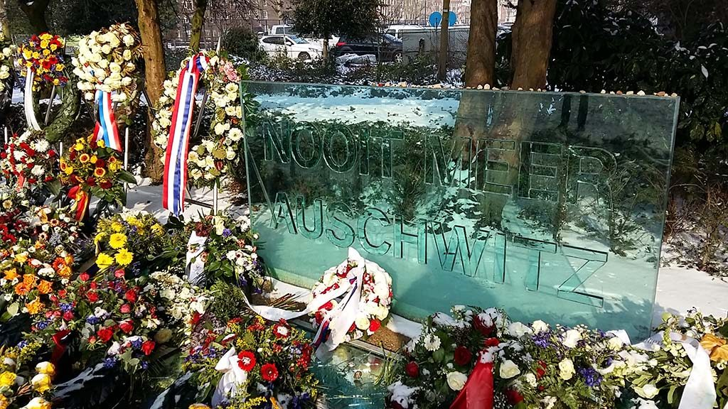 Joods Cultureel Kwartier Auswitz-Monument-Wertheim-Park-foto-Wilma-Lankhorst