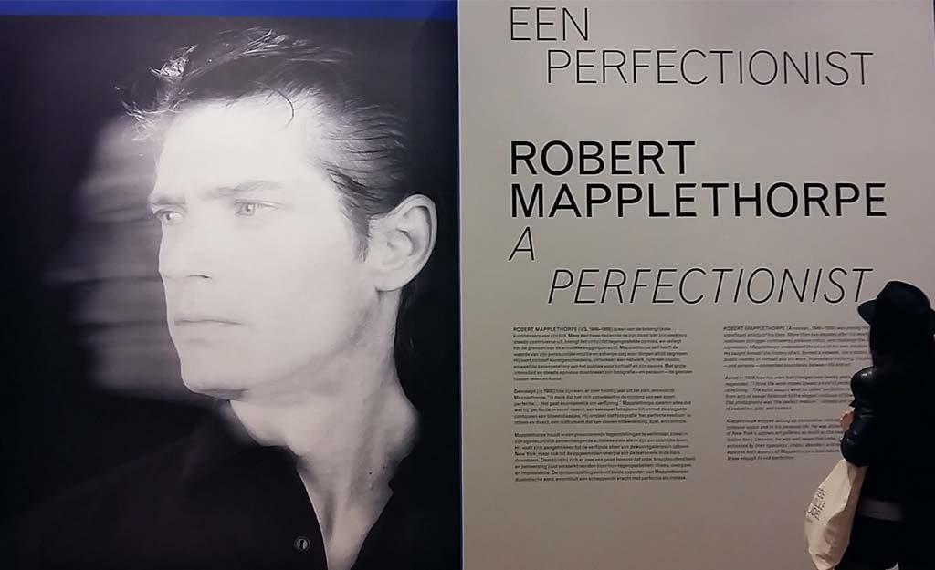 Robert-Mapplethorpe-entree-expositie-foto-Wilma-Lankhorst