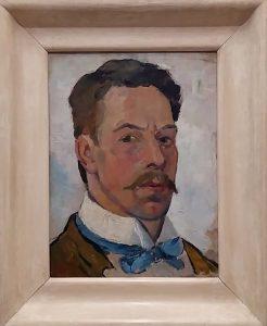 Theo van Doesburg zelfportret-1923-foto-Wilma-Lankhorst