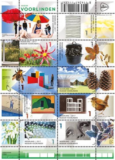PostNL-serie-Voorlinden-postzegels