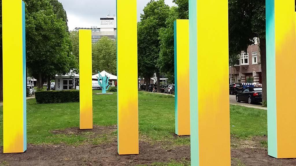 Art Zuid 2017_7-kolommen-en-vier-kleuren-©Esther-Tielemans-foto-Wilma-Lankhorst