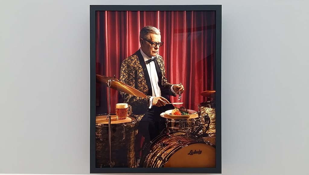 Rodney Graham Dinner Break (Salisbury Steak ) 2017 foto Wilma Lankhorst
