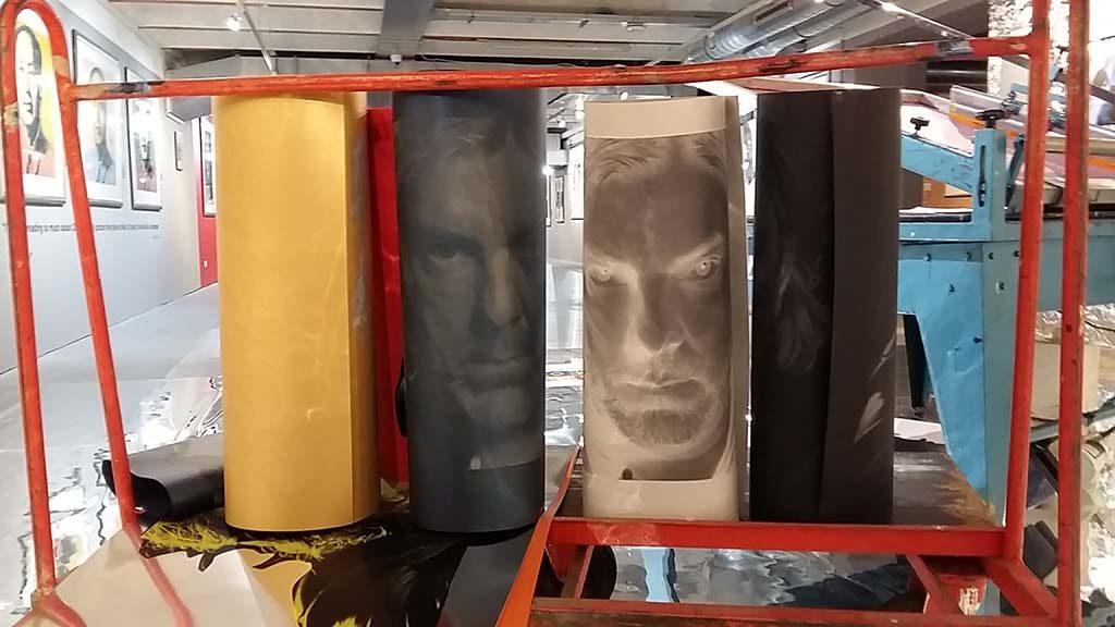 Andy-Warhol-Beurs-van-Berlage-Amsterdam-Ruud-de-Wild-op-de-gevoelige-plaat-foto-Wilma-Lankhorst