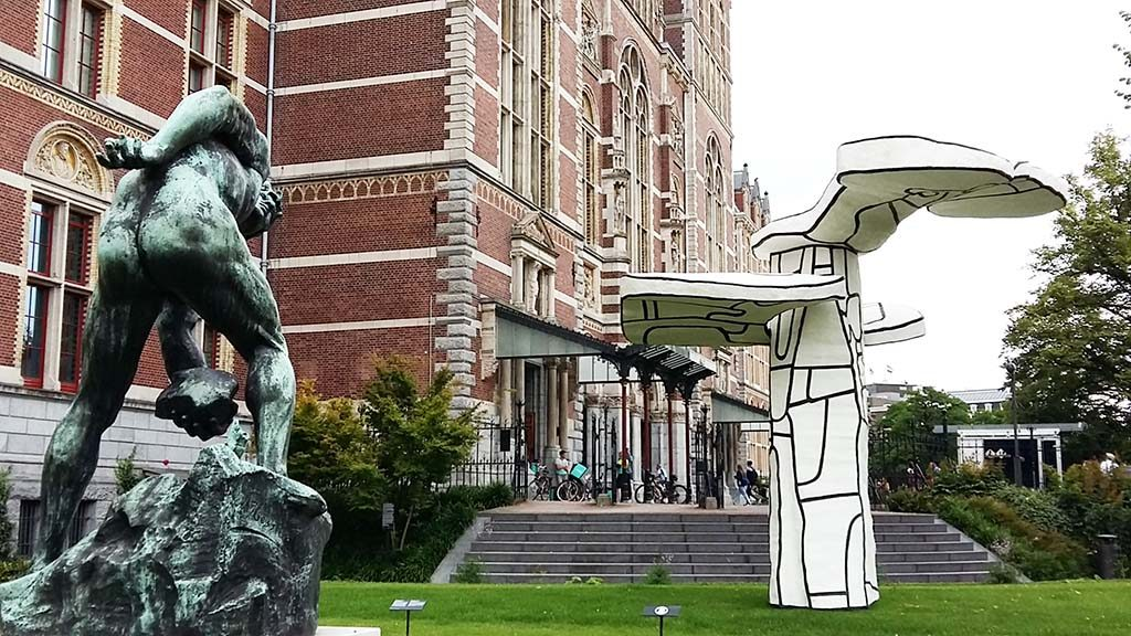 Jean-Dubuffet-Arbre-Biplan-in-Rijksmuseum-tuinen-welcome-Parade-foto-Wilma-Lankhorst