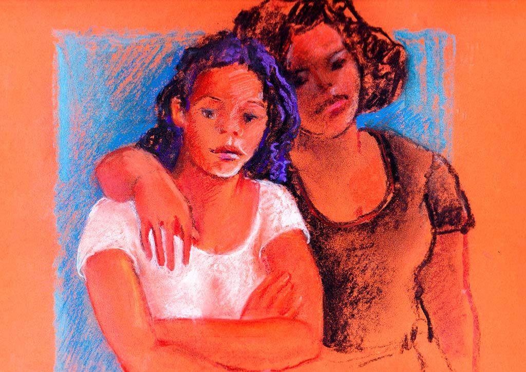 Marjolijn-Rigtering-portrettenYasmin-en-Lisa