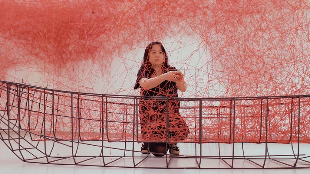 Chiharu Shiota 2017.-Still-uit-video-Jochem-de-Vet