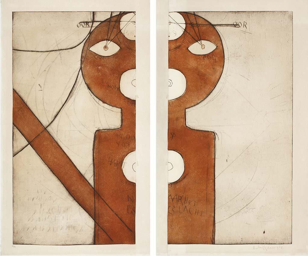 Anton-Heyboer-Documenta-III-1963-ets-collMeeuwissen-Oirschot