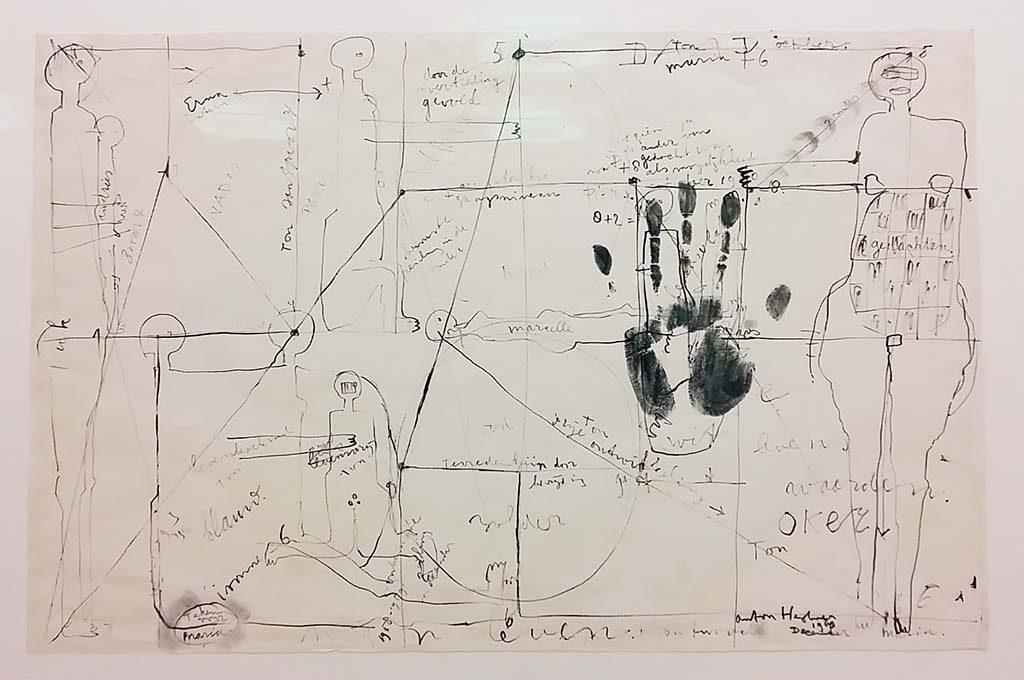 Anton-Heyboer-Verantwoord-1960-inkt-op-papier-Gemeentemuseum-Den-Haag-foto-Wilma-Lankhorst