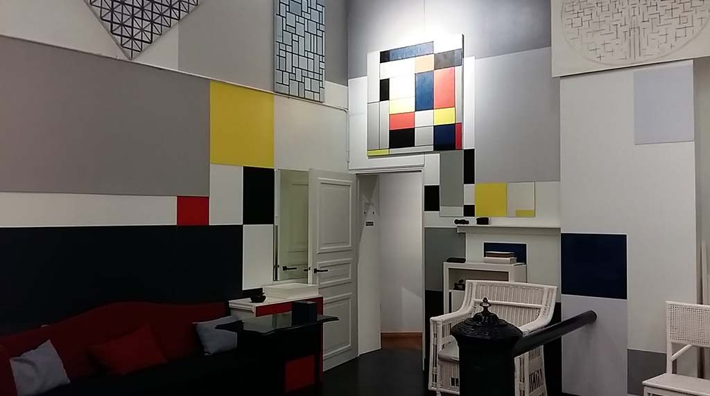De Stijl: Architectuur & Interieur - Wilma Takes a Break