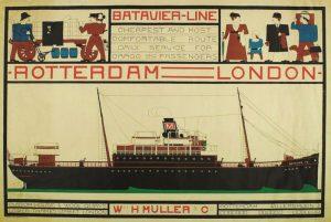 Stijl vol najaar Bart-van-der-Leck-Batavier-lijn-1914-coll-Kroller-Muller-Museum
