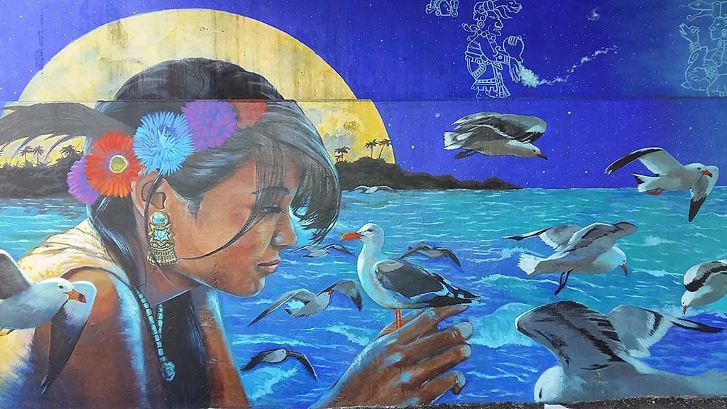 Cancun-Street-Art-Punta-Sam-Mario-Mozko-en-Sony-Montana-foto-Wilma-Lankhorst