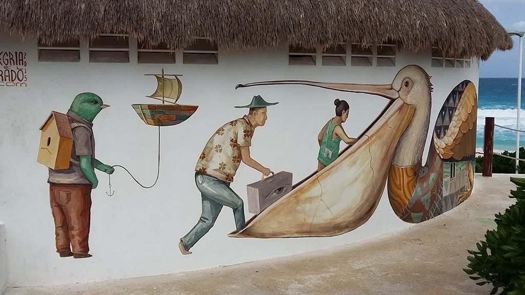 Cancun-street-art-hotel-zone-palapa-1-foto-Wilma-Lankhorst.