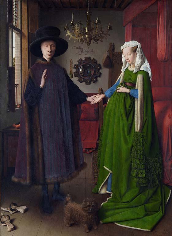 Jan-van_Eyck-1431-1506-Giovanni-Arnolfini-en-zijn-vrouw-dubbelportret-1434-coll.-Portrait-Gallery-in-London