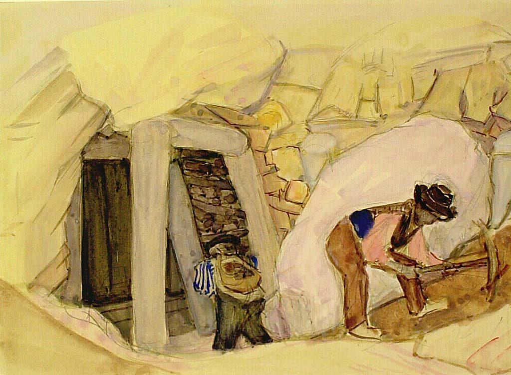 Bart-van-der-Leck-Studie-mijnen-bij-Zaccar-Noord-Afrika-1914-coll.-Kröller_Müller-Museum.