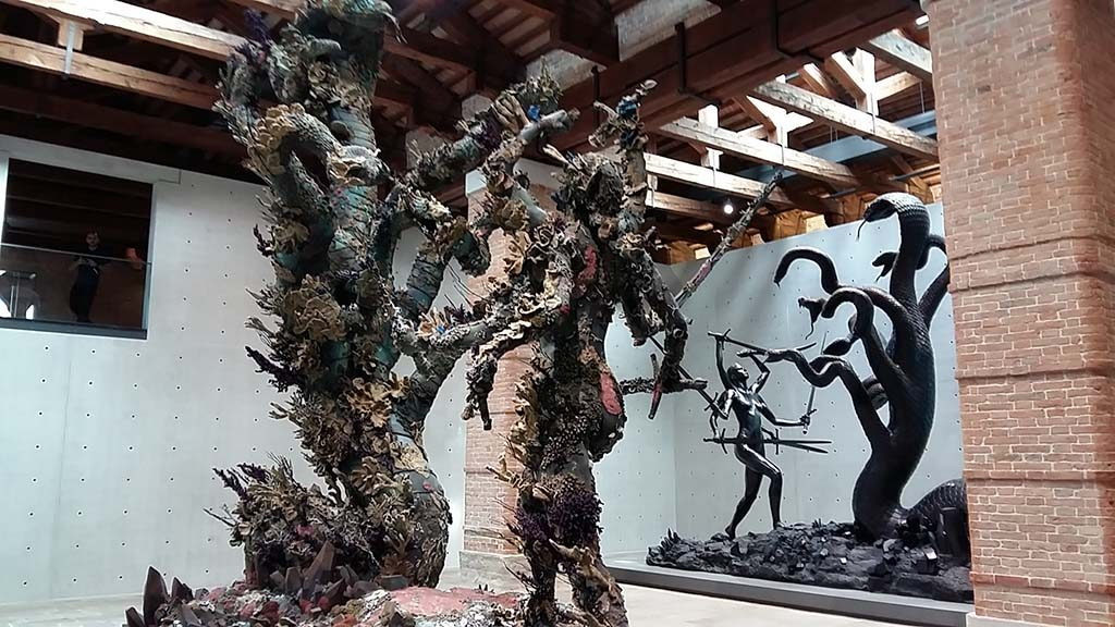 Damien Hirst beeldengroep-Punta-della-Dogana-foto-Wilma-Lankhorst.