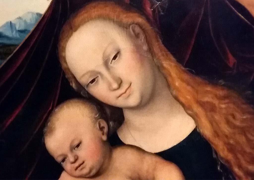 Gotha-detail-Maria-met-Christus-Cranach-werkplaats-foto-Wilma-Lankhorst