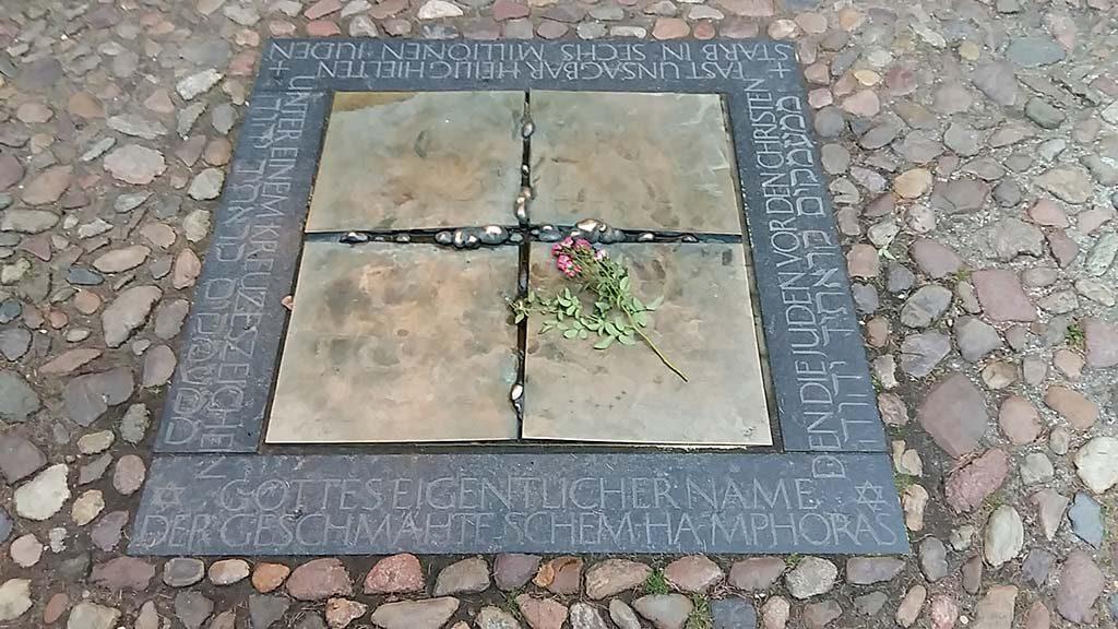 Wittenberg-Joods-monument-©Wieland-Schmiedel-foto-Wilma-Lankhorst