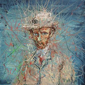 Zeng-Fanzhi-portret-Van-Gogh-IV-2017-Van-Gogh-Museum-Amsterdam
