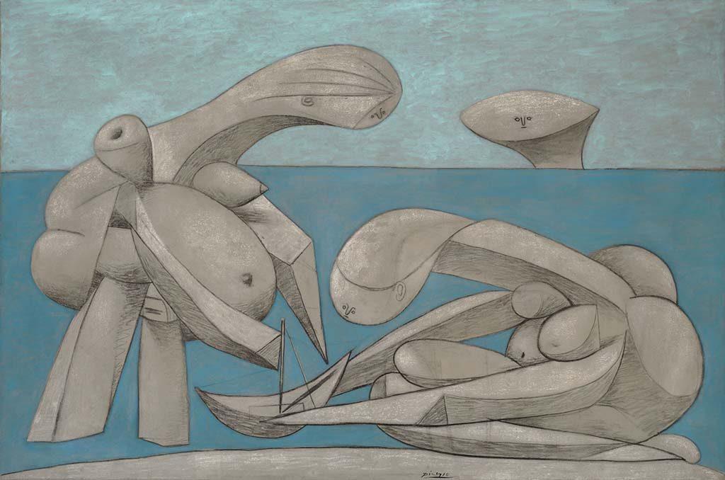 Peggy-Guggenheim-Collection-Venetie_Picasso_Sulla_Spiaggia