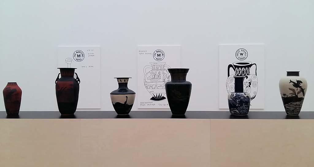 Shio-Kusaka-en-Jonas-Wood-zaal-4-2-Griekse-vazen-Museum-Voorlinden-foto-Wilma-Lankhorst.
