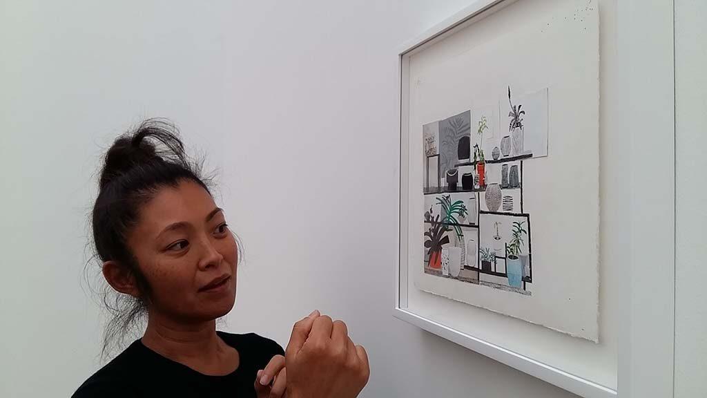 Vrouwelijke kunstenaars Shio Kusaka zaal-3-Museum-Voorlinden-foto-Wilma-Lankhorst.