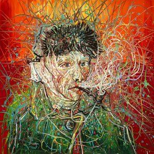 Zeng-Fanzhi-Van-Gogh-probeersel-campagne-beeld-Van-Gogh-Museum