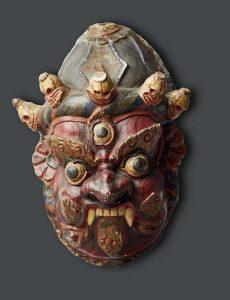 Leven-met-goden-Tibetan-Dance-Mask