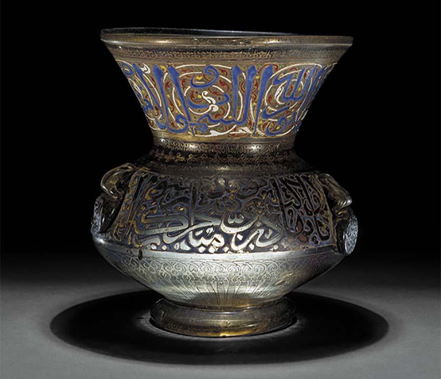 Leven-met-goden-thema-licht_-Mosque-lamp-British-Museum.