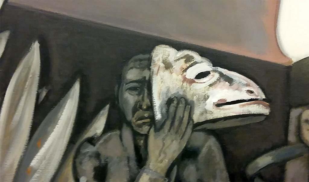 Man-met-masker-detail-van-schilderij-©Wolfgang-Mattheuer-Museum-de-Fundatie-foto-Wilma-Lankhorst
