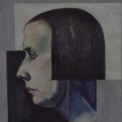 Theo van Doesburg_portret Nelly coll Museum de Lakenhal