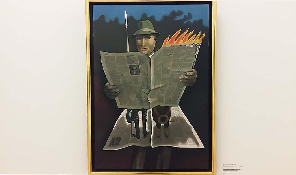 Wolfgang-Mattheuer-De-verbaasde-krantenlezer-1972-©Wolfgang-Mattheuer-foto-Wilma-Lankhorst
