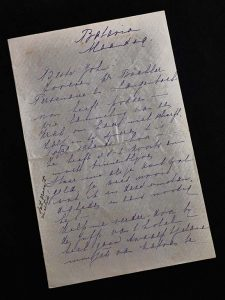Mata Hari Brief-van-Margaretha-Mata-Hari-aan-haar-echtgenoot-Rudolph-MacLeod