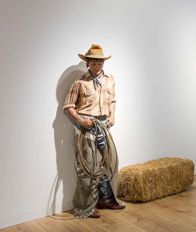 The-American-Dream-Duane_Hanson_Cowboy-with-Hay-1984-1989-Kunsthalle-Emden