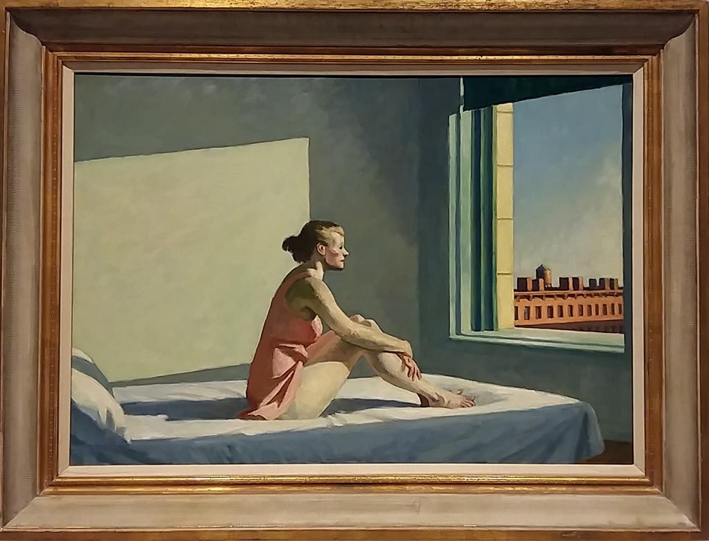 The American Dream Moring-Sun-1952-©Edward-Hopper-Drents-Museum-foto-Wilma-Lankhorst