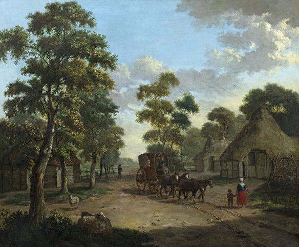 Albarta-ten-Oever-aankomst-op-Schipborg-1806-foto-Groninger-Museum