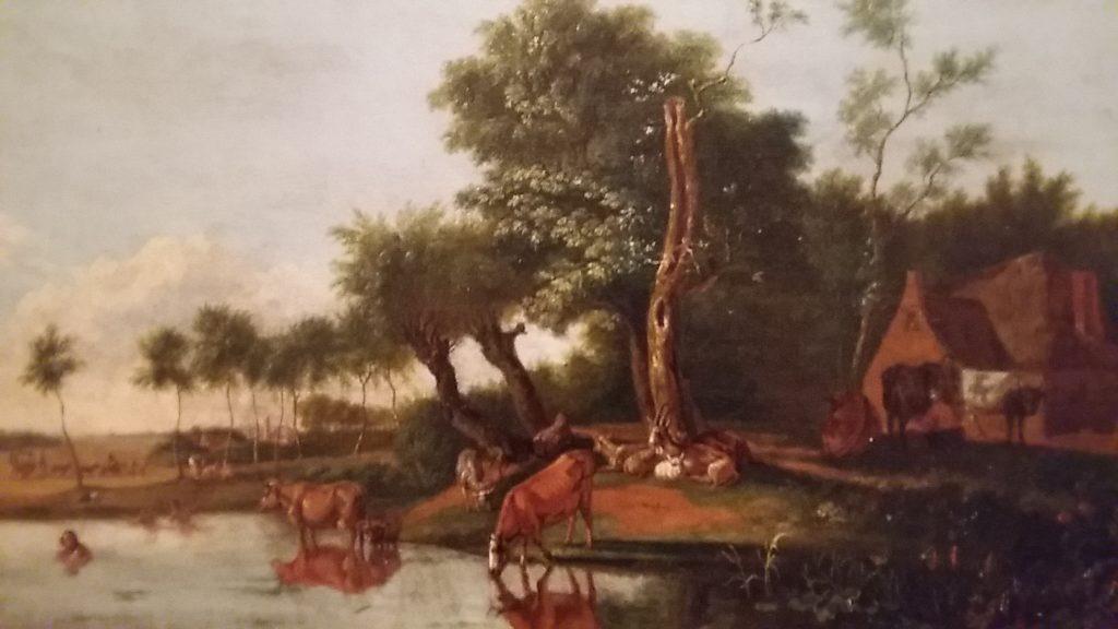 Albarta-ten-Oever-het-spiegelende-koetje-1813-Groninger-Museum