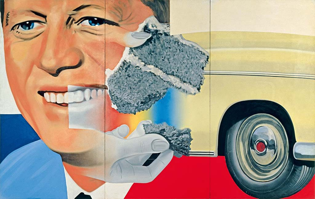 James Rosenquist President-Elect-collage-foto-Ludwig-Museum-Keulen