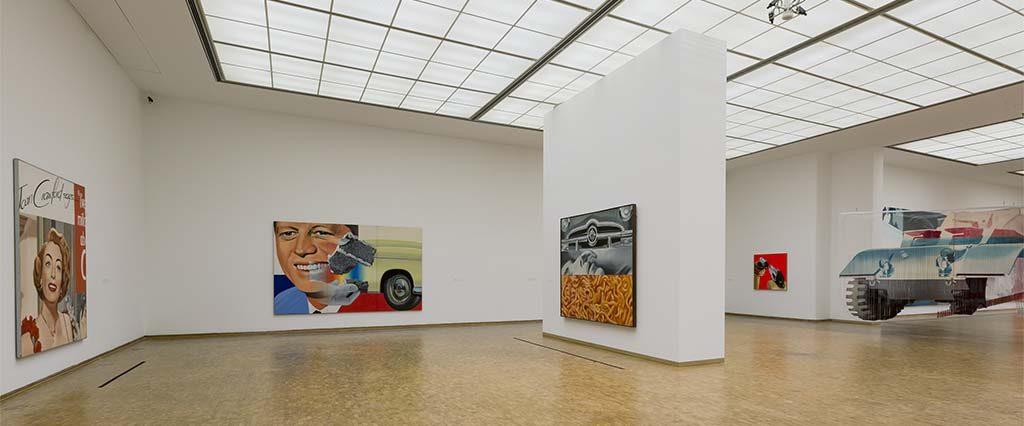 James Rosenquist zaaloverzicht-1_Museum_Ludwig_Keulen