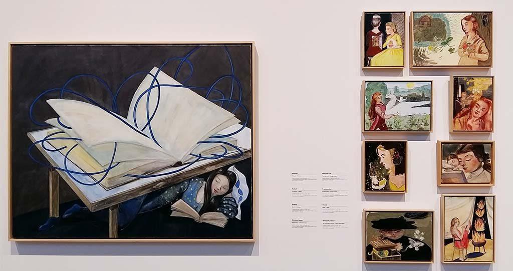 Rosa Loy diverse-werken-in-Drents-Museum-Assen-foto-Wilma-Lankhorst.