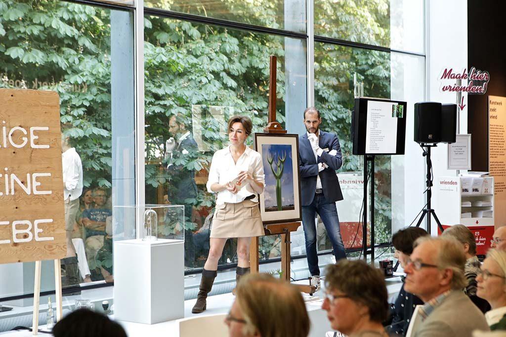 Kunstcafé Nijmegen presentatie Babette Degraeve foto Stef Verstraaten