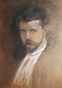Cees-Spoor-zelfportret-z.j.-Particuliere-collectie