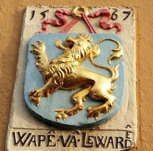 Friese verhalen Oudste-wapen-Leeuwarden-foto-Wilma-Lankhorst