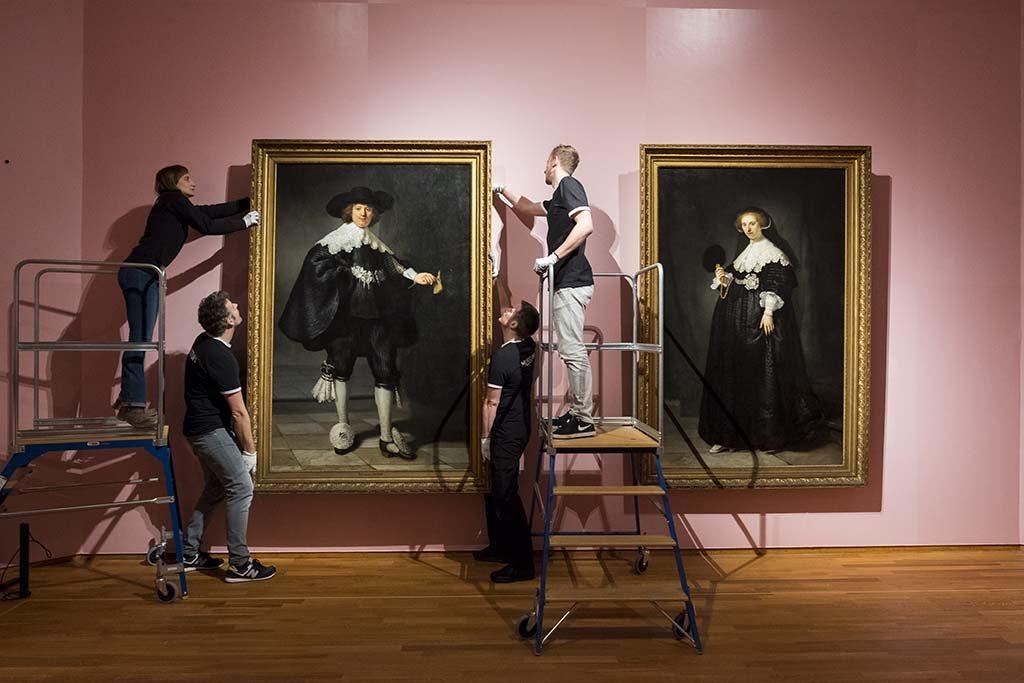 Rembrandt en de Gouden Eeuw High-Society-Marten-Oopjen-Rembrandt-foto-David-van-Dam-Rijksmuseum