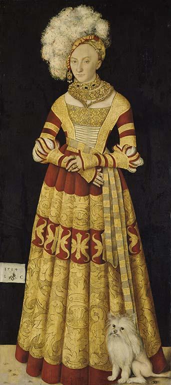 Gemälde / Holz auf Leinwand übertragen (1514) von <br /> Lucas Cranach d.Ä. [1472 - 1553]