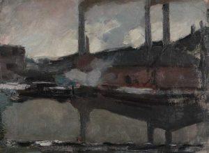 Piet-Mondriaan-De-Koninklijke-Waskaarsenfabriek-1895-1899.-Collectie-Gemeentemuseum-Den-Haag.