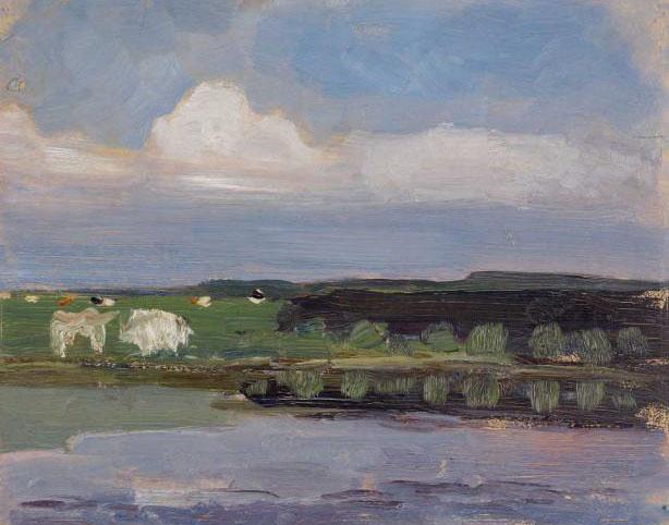 Piet-Mondriaan-Weide-met-koeien-1902-1905.-Collectie-Gemeentemuseum-Den-Haag