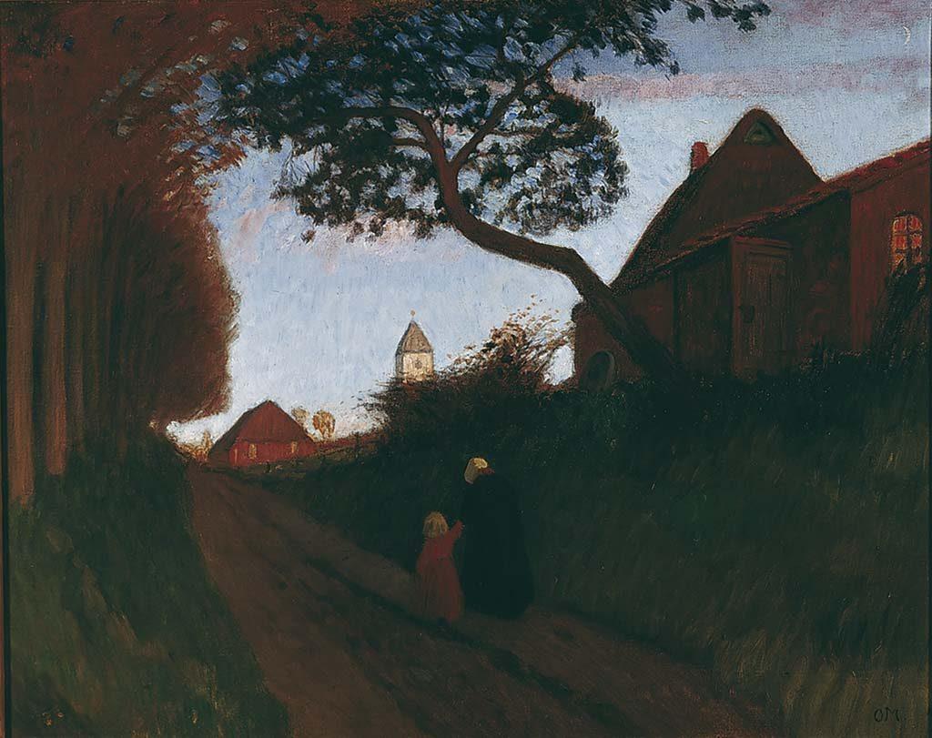 Otto-Modersohn-Avond-in-Worpswede_LR_-1896.-Von-der-Heydt-Museum.