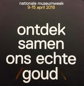 Museumweek 2018 logo